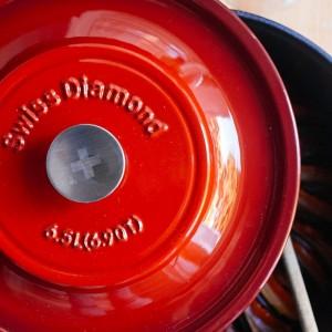 Жаровня чугунная, 5 л, L 29 см, эмалевое покрытие, цвет красный, серия Prestige Cast, Swiss Diamond, Швейцария, арт. 76778, фото 5