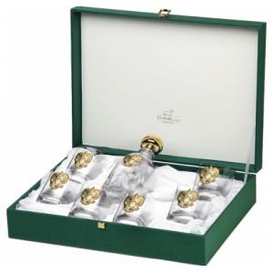 Набор для водки: штоф и 6 стопок Россия (золото), Chinelli, Италия, арт. 18873, фото 2