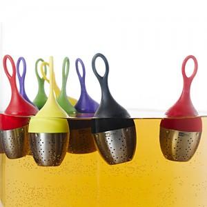 Ситечко FLOATEA для заваривания чая, зеленый, AdHoc, арт. 17533, фото 3