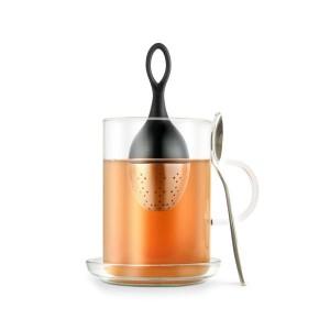 Ситечко FLOATEA Mini для заваривания чая, черный, AdHoc, арт. 17532, фото 7