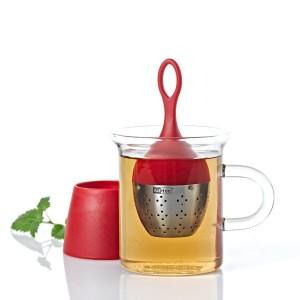Ситечко для заваривания чаяAdHoc, серия FLOATEA, красный, L 4 см, Германия, арт. 17534, фото 9