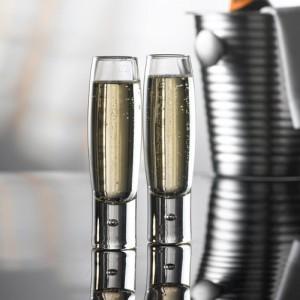 Бокал для шампанского (флюте) ''Bubble'', 170 мл, D 4 см, H 16,3 см, стекло, Durobor, Бельгия, арт. 30097, фото 3
