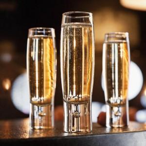 Бокал для шампанского (флюте) ''Bubble'', 170 мл, D 4 см, H 16,3 см, стекло, Durobor, Бельгия, арт. 30097, фото 4