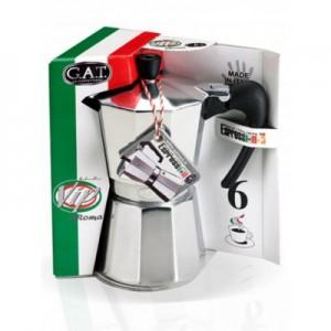 Кофеварка гейзерная AROMA VIP New на 9 чашек, индукционное дно, алюминий пищевой, G.A.T., Италия, арт. 11056, фото 2