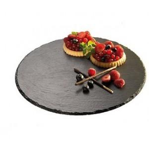 Камень для подачи пиццы, D 33 см, сланец натуральный, APS, Германия, арт. 7028, фото 2