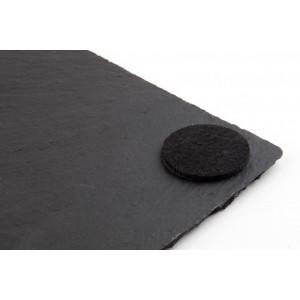 Камень для подачи пиццы, D 33 см, сланец натуральный, APS, Германия, арт. 7028, фото 3