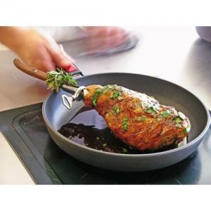 Сковорода со съемной ручкой Titan Plus, D 20 см, литой алюминий, титаново-керамическое покрытие, WOLL, Германия, арт. 11812, фото 2