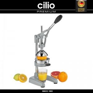 Пресс для цитрусовых, цвет серый, сталь нержавеющая, Cilio, Германия, арт. 89439, фото 2