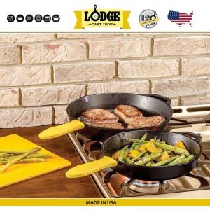 Большая сковорода чугунная, D 40 см, H 6.5 см, Lodge, США, арт. 5205, фото 8