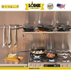 Сковорода стальная, D 25 см, карбоновая сталь, Lodge, США, арт. 5249, фото 8