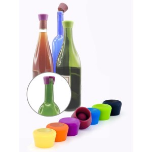 Пробка для бутылки вина, силикон, черный, Pulltex, Испания, арт. 30454, фото 2