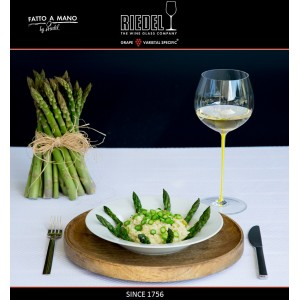 Бокал для белых вин Chardonnay, объем 620 мл, желтая ножка, ручная выдувка, FATTO A MANO, RIEDEL, арт. 87692, фото 2