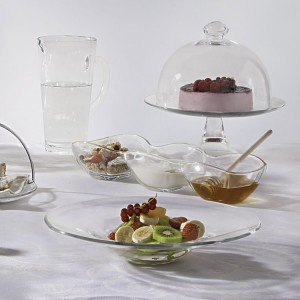 Тортовница с крышкой ''Banquet'', D 33 см, H 20 см, стекло, Vidivi, Италия, арт. 31722, фото 3
