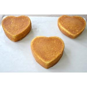 Форма для бисквита «Сердце», D 18 см, H 4 см,  сталь нержавеющая, Paderno, Италия, арт. 6170, фото 4