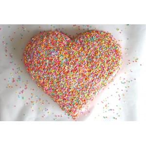 Форма для бисквита «Сердце», D 22 см, H 4 см,  сталь нержавеющая, Paderno, Италия, арт. 6172, фото 3