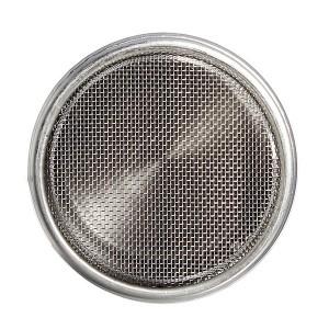 Емкость для сахарной пудры и корицы, 350 мл, D 7 см, H 8,5 см, сталь нержавеющая, Paderno, Италия, арт. 33914, фото 2