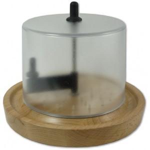 Сырорезка, D 22 см, H 17 см, сталь, дерево, ZASSENHAUS, Германия, арт. 11958, фото 5