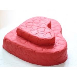 Форма для бисквита «Сердце», D 22 см, H 4 см,  сталь нержавеющая, Paderno, Италия, арт. 6172, фото 2