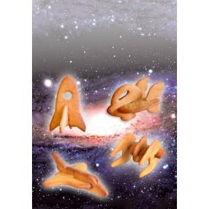 Формы для печенья 3d, Шаттл, серия Space, Suck Uk, Великобритания, арт. 13417, фото 7