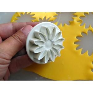 Штамп для мастики «Маргаритка», 3 шт, пластик, Paderno, Италия, арт. 6486, фото 7