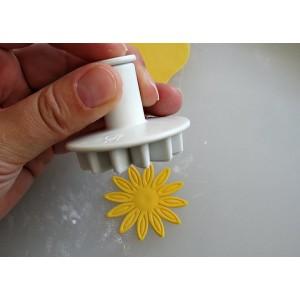 Штамп для мастики «Маргаритка», 3 шт, пластик, Paderno, Италия, арт. 6486, фото 8
