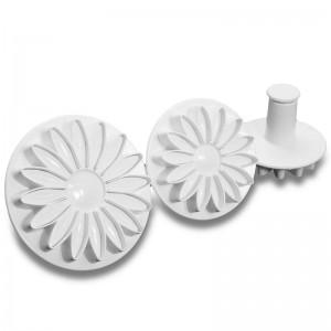 Штамп для мастики «Маргаритка», 3 шт, пластик, Paderno, Италия, арт. 6486, фото 1