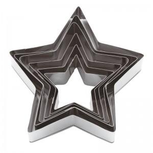 Набор универсальных вырубок «Звезда», 6 шт, Paderno, Италия, арт. 6184, фото 4