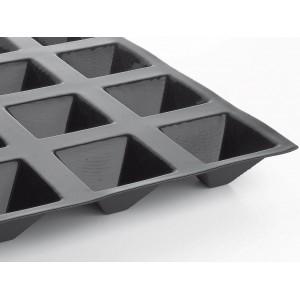 Форма кондитерская пирамида, 24 ячейки, H 4 см, L 7 см, W 7 см, MATFER, Франция, арт. 34241, фото 1