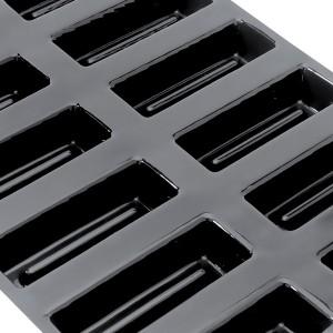 Форма кондитерская, 24 ячейки, (12 х 4), H 2,5 см, силикон, Flexipan, MATFER, Франция, арт. 33846, фото 1