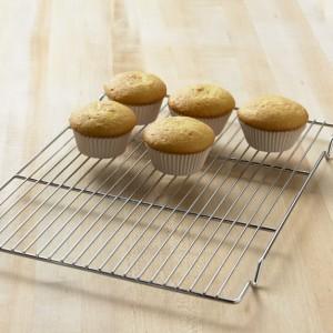 Решетка для охлаждения бисквита, выпечки, L 60 см, W 40 см, сталь нержавеющая, MATFER, Франция, арт. 33120, фото 3