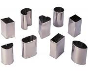 Набор кондитерских форм [9шт], сталь нержавеющая, Paderno, Италия