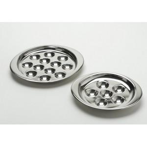 Блюдо для улиток на 6 шт., L 19,5 см, W 16,5 см, сталь нержавеющая, Eternum, Бельгия, арт. 4867, фото 2