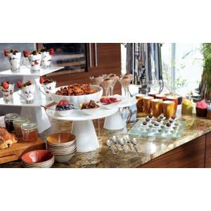 Блюдо для десерта, закусок «Roselli Rise», L 23,5 см, W 23,5 см, фарфор, Steelite, Великобритания, арт. 9126, фото 3