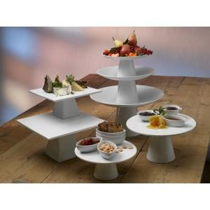 Подставка для торта, пирожных «Roselli Rise», D 24,5 см, фарфор, Steelite, Великобритания, арт. 9375, фото 4