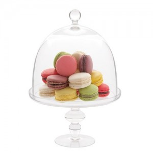 Подставка для торта, десерта с крышкой, D 19 см, H 29, стекло, ручная работа, Luigi Bormioli, Италия, арт. 36345, фото 4