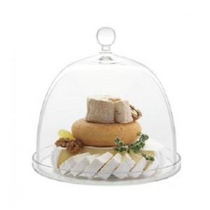 Блюдо с крышкой, D 27/28 см, стекло, ручная работа, Luigi Bormioli, Италия, арт. 36354, фото 2