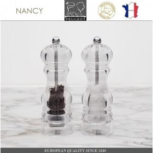 Мельница NANCY для соли, H 12 см, акрил прозрачный, PEUGEOT, Франция, арт. 8705, фото 7