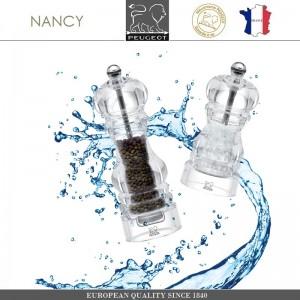 Мельница NANCY для соли, H 12 см, акрил прозрачный, PEUGEOT, Франция, арт. 8705, фото 8