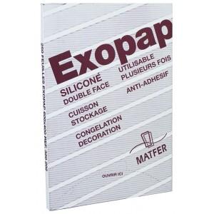 Бумага для выпечки силиконовая, 500 шт, L 60 см, W 40 см, Exopap, MATFER, Франция, арт. 5652, фото 1