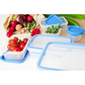 Герметичный контейнер для хранения CLIP & CLOSE, прямоугольный, 3,7 л, L 26,3 см, W 19,5 см, H 11 см, пищевой пластик, Emsa, Германия, арт. 11790, фото 10