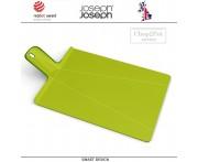 Большая доска Chop2pot Plus складная, зеленый, Joseph Joseph, Великобритания