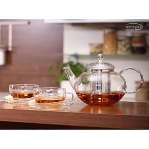 Чайник Miko (пластиковый фильтр), 1250 мл, стекло термостойкое, Trendglas, Венгрия, арт. 9922, фото 2