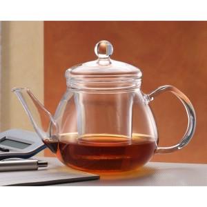 Чайник заварочный «Pretty Tea 1» (пластиковый фильтр), 510 мл, стекло термостойкое, Trendglas, Венгрия, арт. 9923, фото 2
