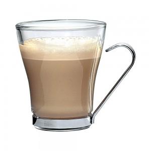 Кружка для кофе, 225 мл, стекло, сталь, Bormioli Rocco, Италия, арт. 3832, фото 2
