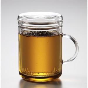 Кружка чайная с крышкой «Cyclo», 410 мл, стекло термостойкое, Trendglas, Венгрия, арт. 9920, фото 2