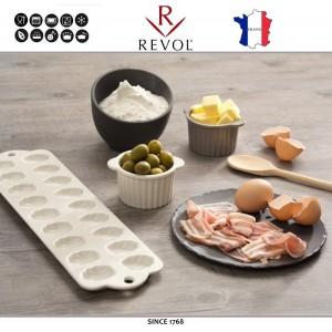 Десертная (закусочная) тарелка BASALT, D 17,5 см, фарфор. REVOL, Франция, арт. 8798, фото 3