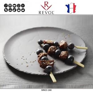 Десертная (закусочная) тарелка BASALT, D 17,5 см, фарфор. REVOL, Франция, арт. 8798, фото 2
