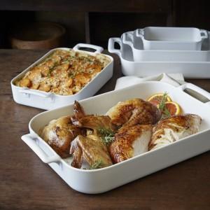 Форма для запекания и подачи «Belle Cuisine», 450 мл, H 4,5 см, L 16 см,  фарфор, REVOL, Франция, арт. 6743, фото 2