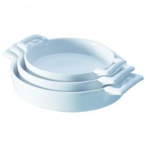 Сковорода порционная «Belle Cuisine», 250 мл, H 3 см, L 18 см, W 13 см,  фарфор, REVOL, Франция, арт. 6739, фото 3