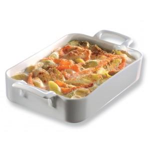 Форма для запекания и подачи «Belle Cuisine», 450 мл, H 4,5 см, L 16 см,  фарфор, REVOL, Франция, арт. 6743, фото 1